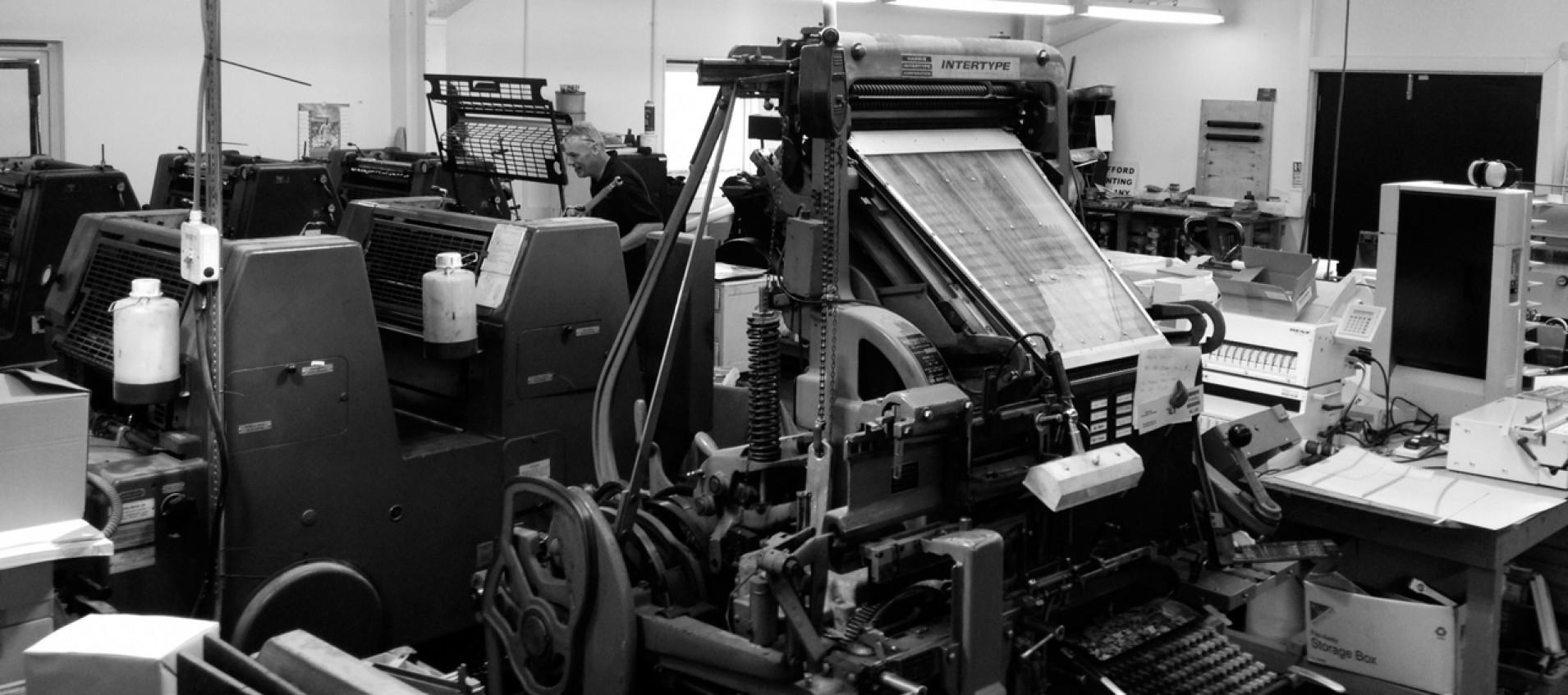 Rufford Printing History
