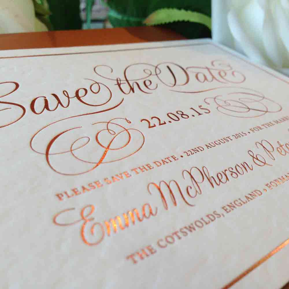 save the date cards rufford printing co
